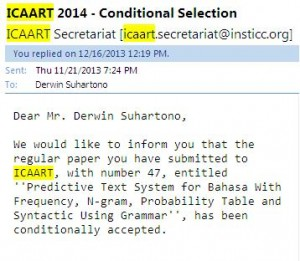 icaart2014 conditionally accepted