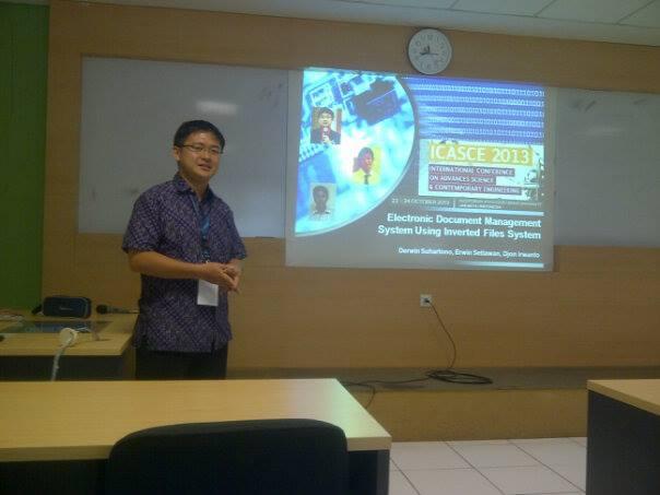 24 October 2013 - ICASCE2013 Jakarta Indonesia