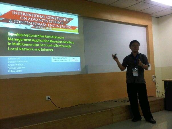 25 October 2012 - ICASCE2012 Jakarta Indonesia